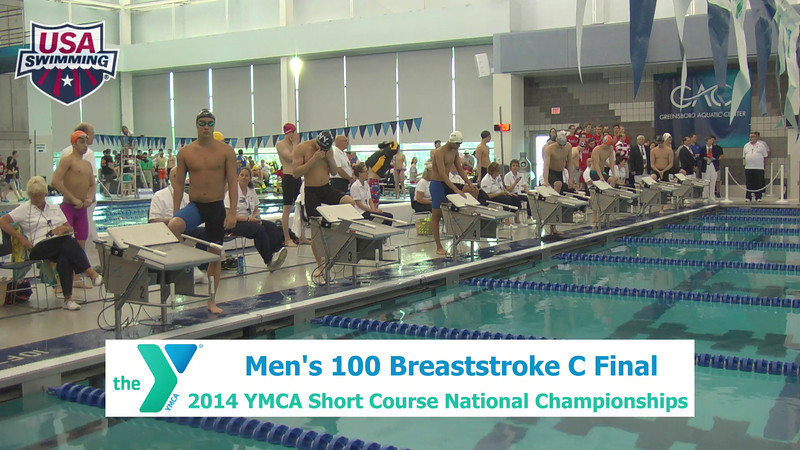 M 100 Breaststroke C Final