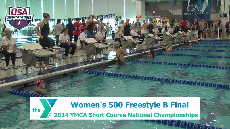 W 500 Freestyle B Final