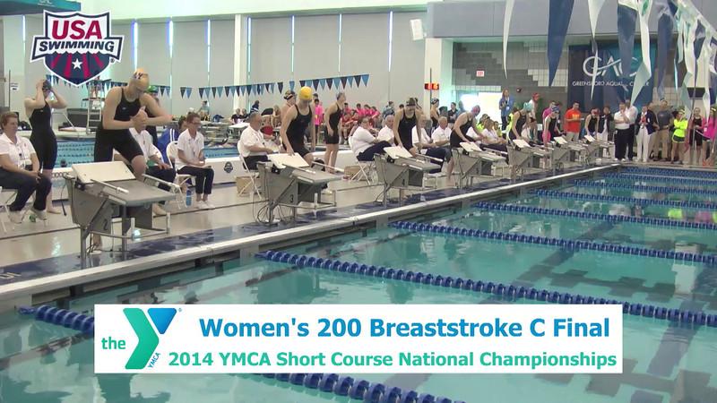 W 200 Breaststroke - A Finals