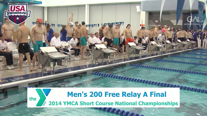 M 200 Freestyle Relay - B Finals