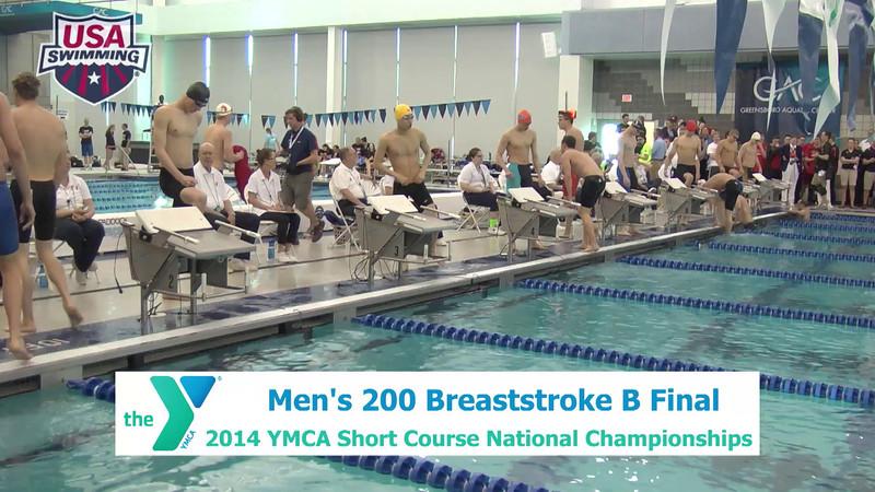M 200 Breaststroke - B Final
