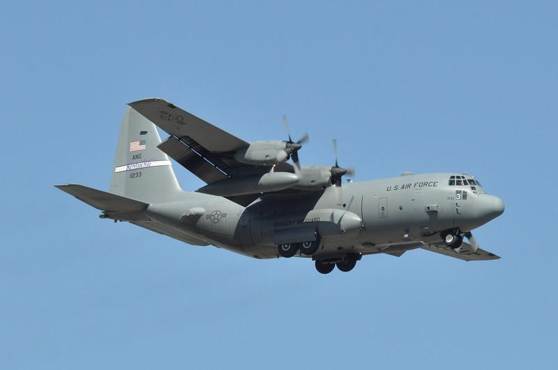 """91-1233 """"Exterminator""""<br /> C-130H<br /> 165th AS<br /> c/n 382-5283<br /> <br /> 4/12/15 ADW"""