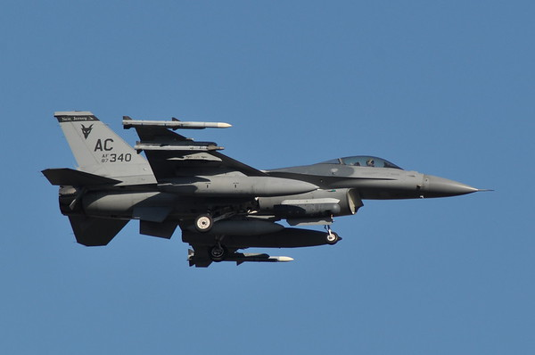 87-0340 F-16C Block 30J 119th FS c/n 5C-601  10/5/14 ADW