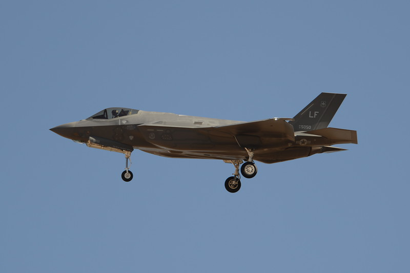 12-5050<br /> F-35A-2B<br /> 61st FS<br /> AF-61