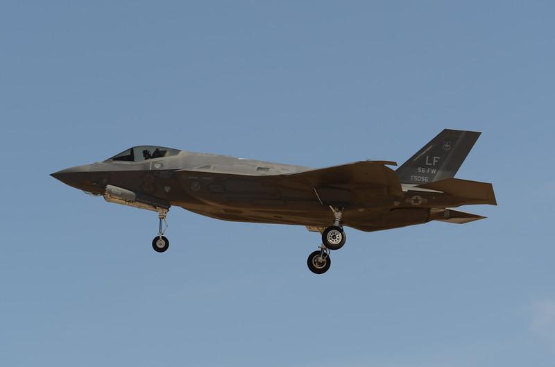 """12-5056 """"56 FW""""<br /> F-35A-2B<br /> 61st FS<br /> AF-67"""