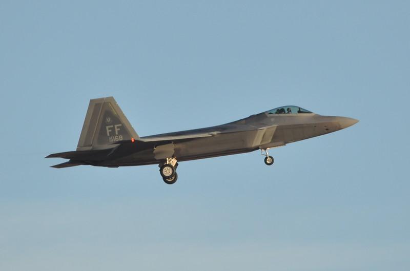 08-4168<br /> F-22A-35-LM<br /> 94th FS<br /> c/n 645-4168<br /> <br /> Red Flag 15-1