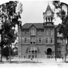 First brick building at the University of Southern California, ca.1890-1895