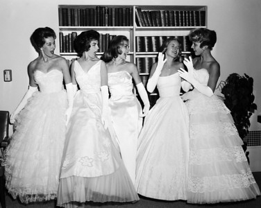 University of Southern California Homecoming Queen and Court, 1961