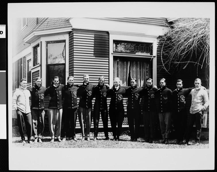 USC Theta Psi fraternity, 1912