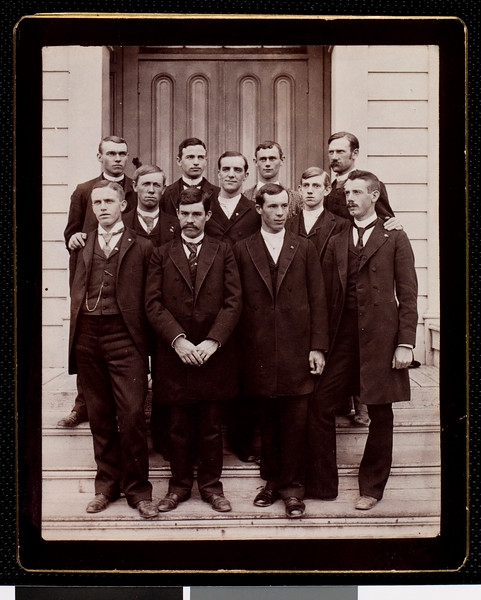 USC Sigma Chi fraternity brothers, ca. 1890