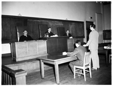 University of Southern California mock court, 1952