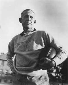 University of Southern California football coach Howard Jones, mid 1930s