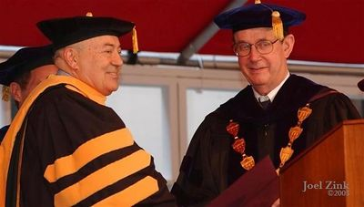 Andrew J. Viterbi, Doctor of Science; Steven B. Sample, 10th President of the University of Southern California