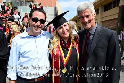 USC Athletics 2013 Graduation