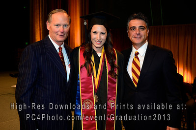 USC Athletics 2013 Graduation