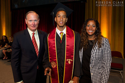 USC Athletics 2014 Graduation
