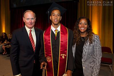 USC Athletics 2014 Graduation