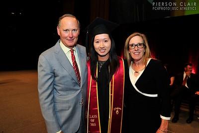 USC Athletics 2015 Graduation