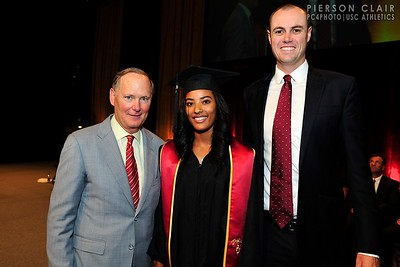 USC Athletics 2015 Graduation