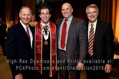 USC Athletics 2016 Graduation