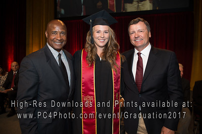 USC Athletics Graduation 2017