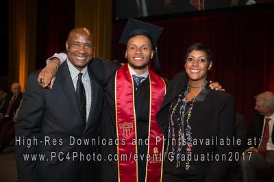 USC Athletics Graduation 2017
