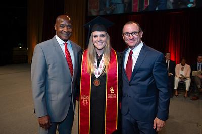 USC Athletics Graduation 2018