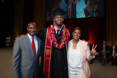 USC Athletics Graduation 2018