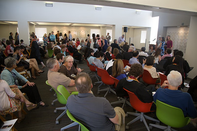 2016 University of Southern California Wall of Scholars Award Ceremony in the Weingart Reading Room, Thomas and Dorothy Leavey Library
