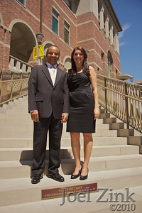 8/26/2010 - Dedication of the Steps of Troy