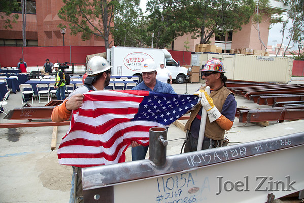 Wallis Annenberg Hall Topping Off Ceremony