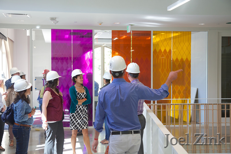 """6/12/2014 """"Summer Daze"""" Annenberg staff and faculty building tour"""