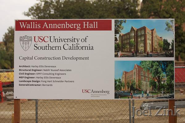 Wallis Annenberg Hall Construction