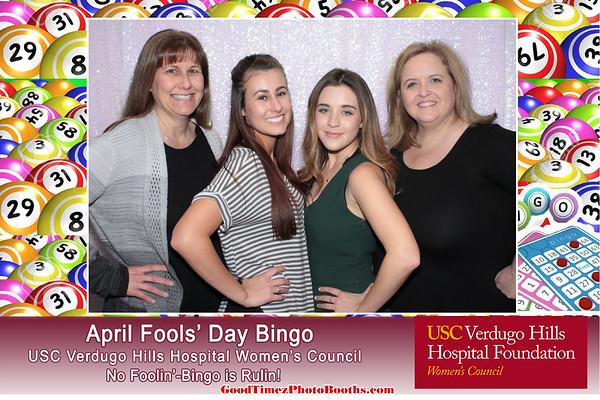 April Fools Day Bingo Night 2017