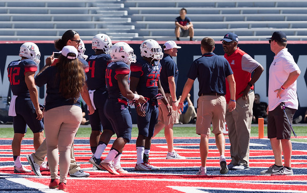 USC at Arizona Field Photos October 15, 2016