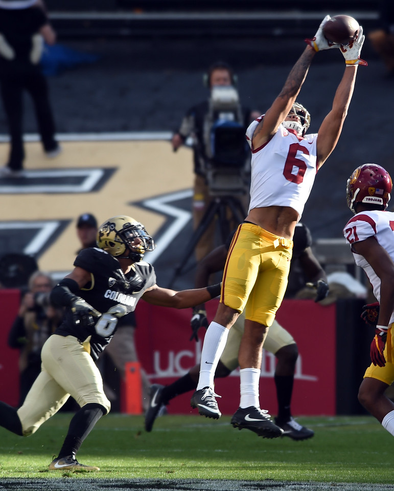 Southern California at Colorado NCAA Football