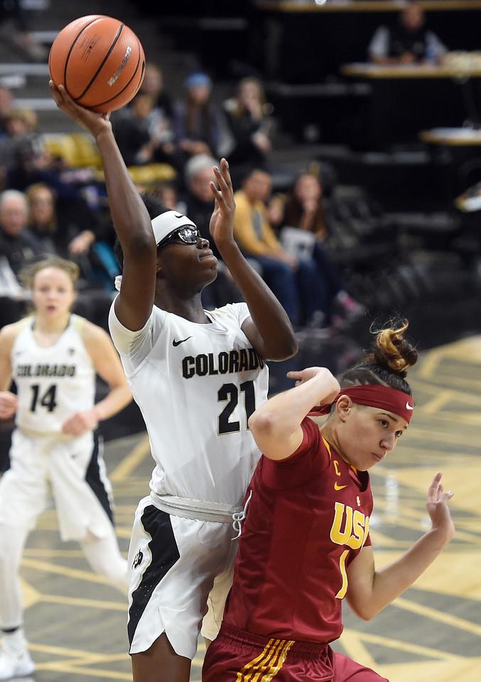 Colorado USC WBB