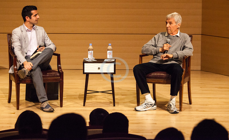 Burt Bacharach's February 27, 2015 conversation with members of the USC community.  <br /> <br /> ~ Images by Martin McKenzie All Rights Reserved ~