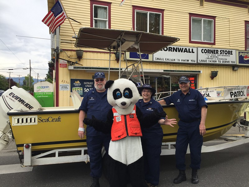 PFD Panda with John & Penny M, Jim A