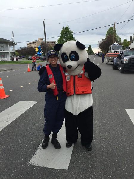 PFD Panda, ( Russell),  SN Kayla Miller
