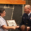 2013 Change of Watch - presentation of appreciation from STA Bellingham to FL 11. P. MIlczewski accepting