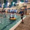 Pumpkins in the pool - water safety-psm