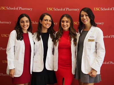 USC School of Pharmacy PharmD, White Coat Ceremony, 2017