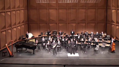 """Concerto for Alto Saxophone and Wind Ensemble"" (2013) Frank Ticheli North American premiere performance Clifford Leaman, alto saxophone III. Black Raven"