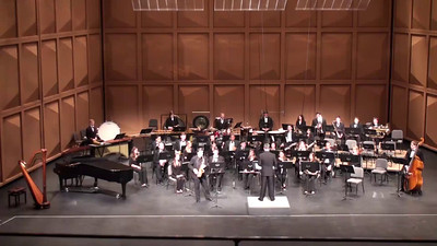 """Concerto for Alto Saxophone and Wind Ensemble"" (2013) Frank Ticheli North American premiere performance Clifford Leaman, alto saxophone I. Falcon Fantasy"