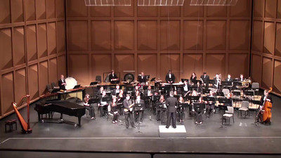 """Concerto for Alto Saxophone and Wind Ensemble"" (2013) Frank Ticheli North American premiere performance Clifford Leaman, alto saxophone II. Silver Swan"