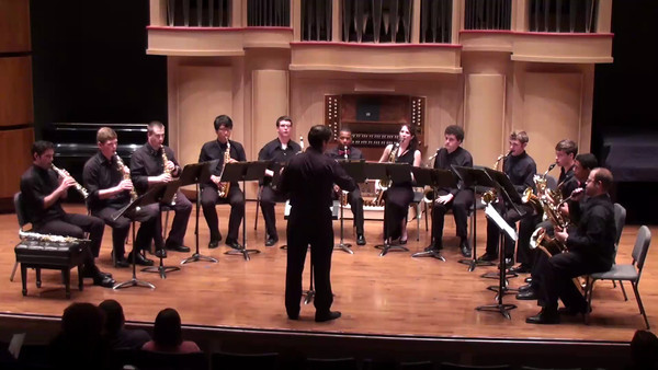 """Serenade in D Minor, Op. 44"" - Antonin Dvorak Arr. Clifford Leaman I. Moderato quasi Marcia"