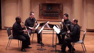 """""""Quatuor"""" - Alfred Desenclos III. Poco largo, ma risoluto - Allegro energico"""