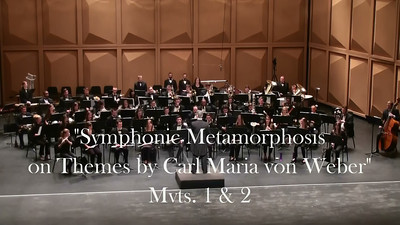 """Symphonic Metamorphosis on Themes by Carl Maria von Weber"" (1943) Paul Hindemith I. Allegro II. Turandot - Scherzo"