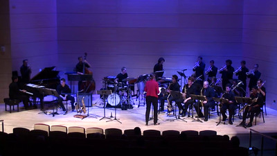 """Melting Pot"" Sonia Jacobsen (Featuring Sonia Jacobsen conducting; Ms. Jacobsen teaches Jazz and Ethnic Music at USC)"